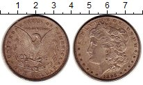 Изображение Монеты США 1 доллар 1898 Серебро XF+