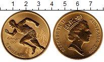 Изображение Мелочь Австралия 5 долларов 2000 Латунь UNC- Олимпийские игры бег