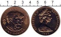 Изображение Монеты Новая Зеландия 1 доллар 1983 Медно-никель UNC-