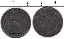 Изображение Монеты Великобритания 1 фартинг 1822 Медь XF-
