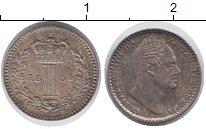 Изображение Монеты Великобритания 1 пенни 1834 Серебро XF+