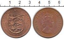 Изображение Монеты Остров Джерси 1/12 шиллинга 1964 Бронза UNC- Елизавета II