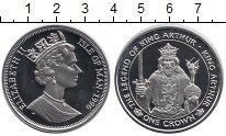 Монета Остров Мэн 1 крона Серебро 1996 Proof- фото