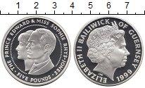 Изображение Монеты Гернси 5 фунтов 1999 Серебро Proof Елизавета II.  Принц