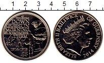 Изображение Монеты Остров Джерси 5 фунтов 2014 Медно-никель UNC Елизавета II.  70 -