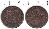 Изображение Монеты Остров Джерси 1/26 шиллинга 1870 Медь XF Виктория