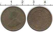 Изображение Монеты Цейлон 1 цент 1926 Бронза VF