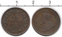 Изображение Монеты Индия 1/12 анны 1935 Бронза XF Георг V