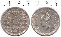 Изображение Монеты Индия 1 рупия 1942 Серебро XF Георг VI