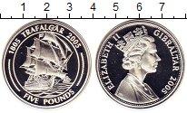 Изображение Монеты Великобритания Гибралтар 5 фунтов 2005 Серебро Proof-