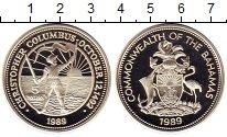 Изображение Монеты Багамские острова 5 долларов 1989 Серебро Proof-