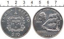 Изображение Монеты Самоа 10 долларов 1979 Серебро UNC