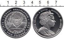 Изображение Монеты Сендвичевы острова 2 фунта 2007 Серебро Proof-