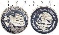Изображение Монеты Мексика 5 песо 1999 Серебро Proof-