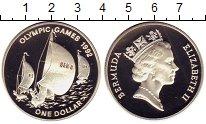 Изображение Монеты Великобритания Бермудские острова 1 доллар 1992 Серебро Proof-