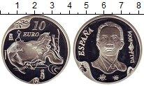 Изображение Монеты Испания 10 евро 2004 Серебро Proof