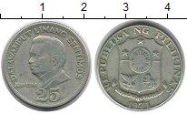 Изображение Монеты Филиппины 25 сентим 1971 Медно-никель XF Хуан Луна