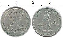Изображение Монеты Филиппины 10 сентаво 1964 Медно-никель XF Девушка