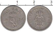 Изображение Монеты Норвегия 10 эре 1894 Серебро XF