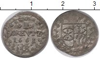 Изображение Монеты Майнц 1 крейцер 1661 Серебро XF-