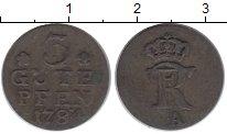 Изображение Монеты Германия Пруссия 3 пфеннига 1784 Серебро XF-