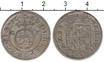 Изображение Монеты Германия Бранденбург 1/24 талера 1669 Серебро XF