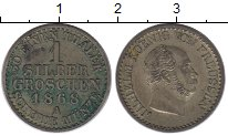 Изображение Монеты Германия Пруссия 1 грош 1868 Серебро XF
