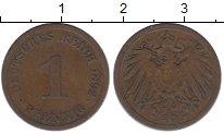 Изображение Монеты Германия 1 пфенниг 1892 Медь XF
