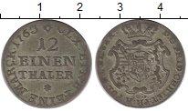 Изображение Монеты Саксония 1/12 талера 1763 Серебро XF