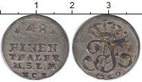 Изображение Монеты Мекленбург-Стрелитц 1/48 талера 1760 Серебро VF
