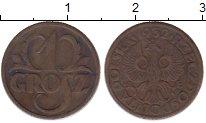 Изображение Монеты Польша 1 грош 1932 Бронза XF