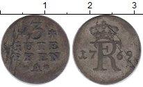 Изображение Монеты Пруссия 3 пфеннига 1769 Серебро XF-