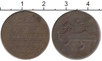 Изображение Монеты Германия Бамберг 1/2 крейцера 1762 Медь XF