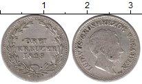 Изображение Монеты Баден 3 крейцера 1829 Серебро XF