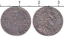Изображение Монеты Великобритания 6 пенсов 1697 Серебро XF+