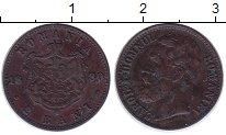 Изображение Монеты Румыния 2 бани 1880 Бронза XF
