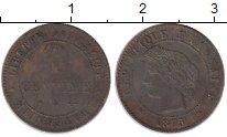 Изображение Монеты Франция 1 сантим 1875 Бронза XF