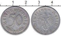 Изображение Монеты Третий Рейх 50 пфеннигов 1940 Алюминий XF