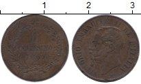 Изображение Монеты Италия 1 сентесим 1867 Бронза XF