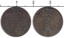 Изображение Монеты Германия Пруссия 1/48 талера 1779 Серебро VF