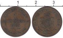 Изображение Монеты Германия Саксония 1 пфенниг 1868 Медь XF