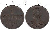 Изображение Монеты Ганновер 1 пфенниг 1946 Медь XF