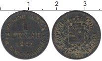 Изображение Монеты Германия Саксен-Кобург-Готта 1 пфенниг 1841 Медь VF
