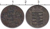 Изображение Монеты Саксен-Веймар-Эйзенах 1/24 талера 1804 Серебро XF-
