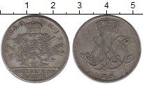 Изображение Монеты Саксен-Веймар-Эйзенах 1/6 талера 1764 Серебро XF-