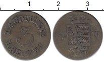 Изображение Монеты Германия Саксе-Мейнинген 3 крейцера 1829 Серебро XF-
