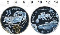 Изображение Монеты Испания 50 евро 2004 Серебро Proof