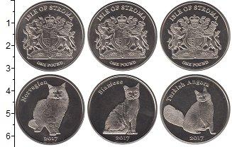 Изображение Наборы монет Шотландия Остров Строма 2017 Медно-никель UNC Токены. Остров Стром