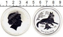Изображение Мелочь Австралия 1 доллар 2018 Серебро UNC