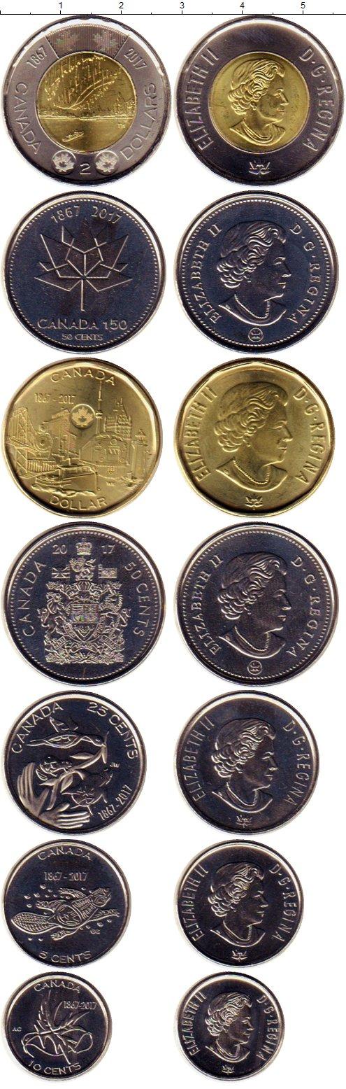 Картинка Наборы монет Канада 150 лет Канаде  2017